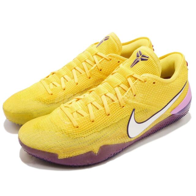 46b14dfb05cd Nike Kobe AD NXT 360 Bryant Yellow Strike Mamba Lakers Purple Men AQ1087-700