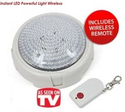 3x Instant Powerful Light w/ Remote Control Remote Bright Light gr8 4 camping