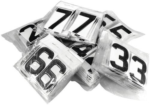 3d Gel Carbone Plaques de numéro un Dôme Résine Making lettre L À faire soi-même Inscription UK Reg
