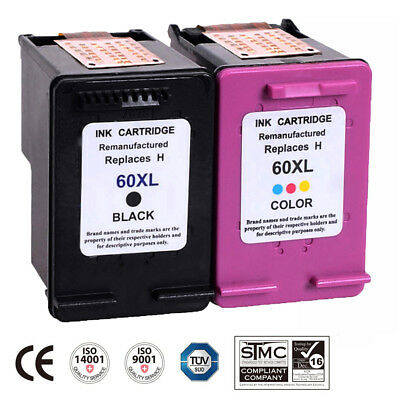 1 Tri-Color  Sellyaha Remanufactured Ink Cartridge Replacement 60 ...