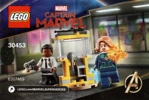 VENTE-FLASH-LEGO-Marvel-avengers-30453-CAPTAIN-MARVEL-amp-Nick-Fury-polybab-D100