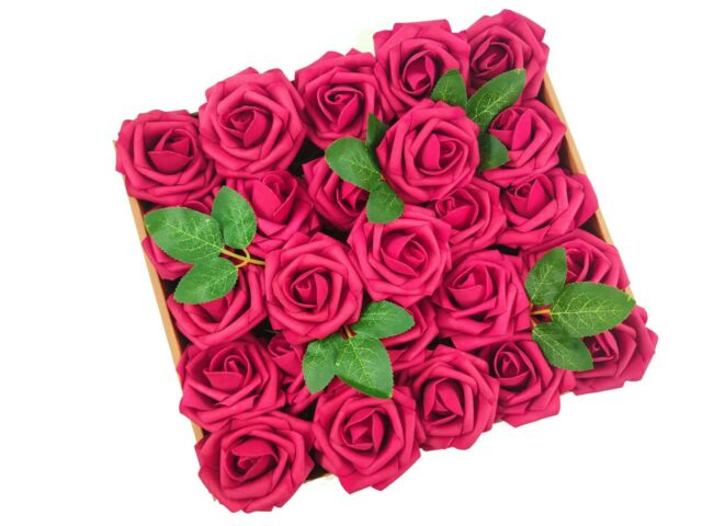 Gifts Artificial Foam Flowers Fake Roses Wedding Decoration Bridal
