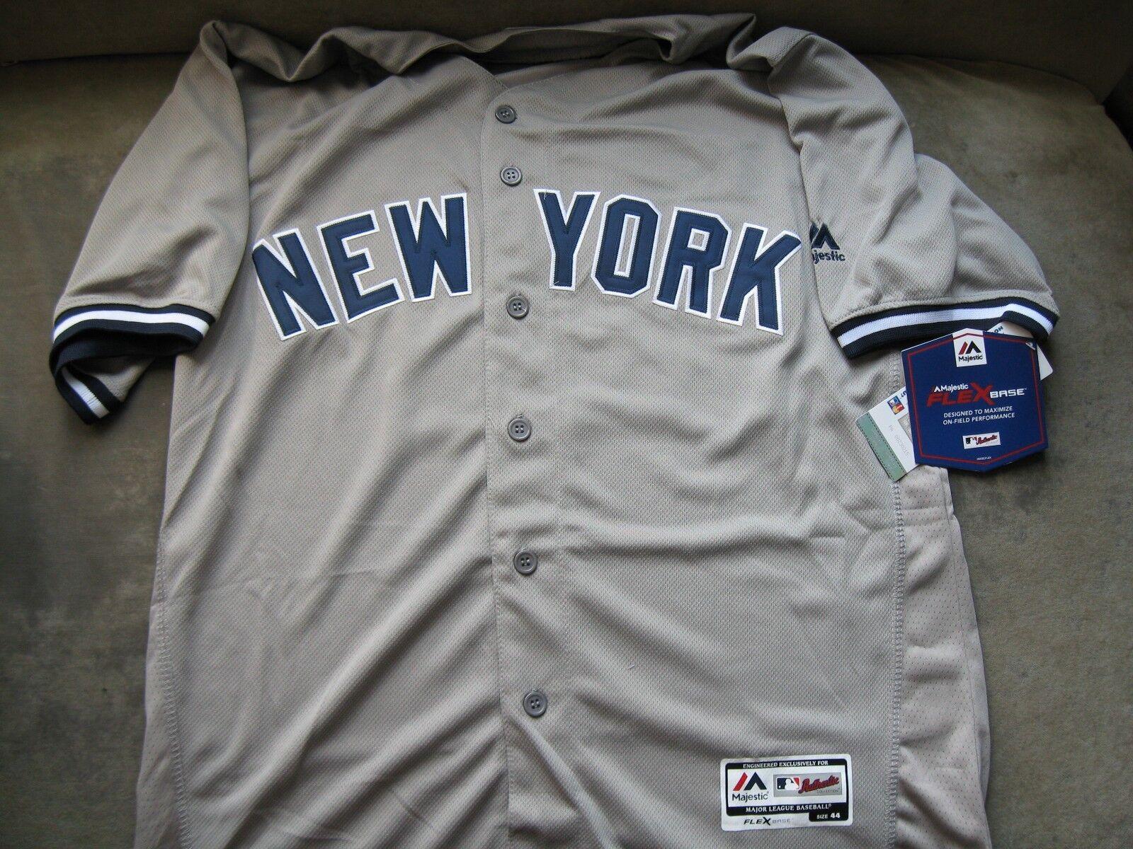 NY Yankees Giancarlo Stanton Road Jersey XL