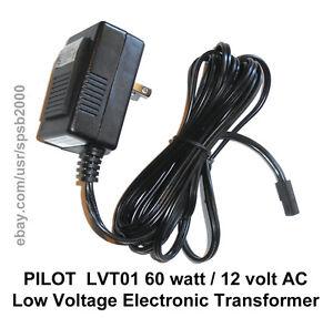 60watt 12volt Plug In Transformer 60w 120v 12v Ac Low