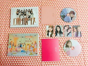 Details about IZONE Color*iz 1st mini album separated item photocard  postcard