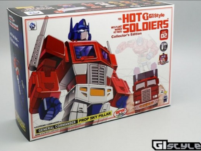 Mechanical planet deformation toy HS-02 HS-02 HS-02  optimus prime with carriage 6176ae