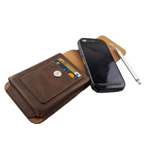 Caseroxx outdoor bolso para Maze comet en marrón de cuero genuino