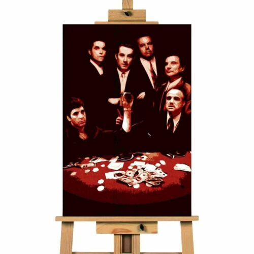 Scarface Gang Picture Canvas Art Wall Print Goodfellas Godfather