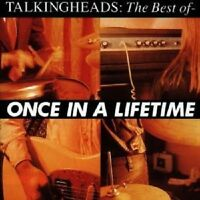 "TALKING HEADS ""ONCE IN A LIFETIME-BEST OF"" CD NEUWARE"