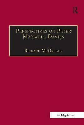 Perspectives on Peter Maxwell Davies, , Very Good