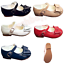 SPANISH STYLE  MARY JANE  PARTY BOW SHOES UK INFANT SIZE 4 YOUTH SIZE 2 NEW IN