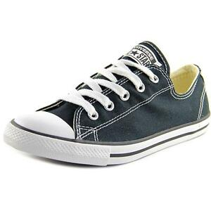 9d5387a291b Womens Converse All Star Dainty Ox Black Low Top Chuck Taylor ...