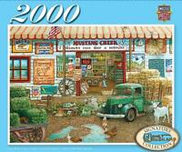 Signature Series Jigsaw Puzzle Farm & Fleet Store Janet Kruskamp 2000 Pcs 71664