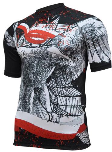 Koszulka Shirt Shortsleeve Patriotic Poland Polska Orzeł Eagle Gym Rashguard M