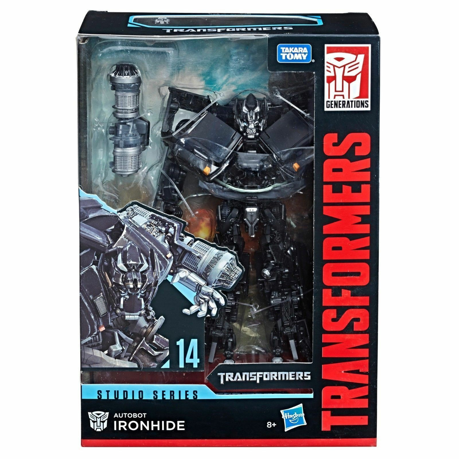 NEW TRANSFORMERS GENERATIONS STUDIO SERIES VOYAGER IRONHIDE FIGURE