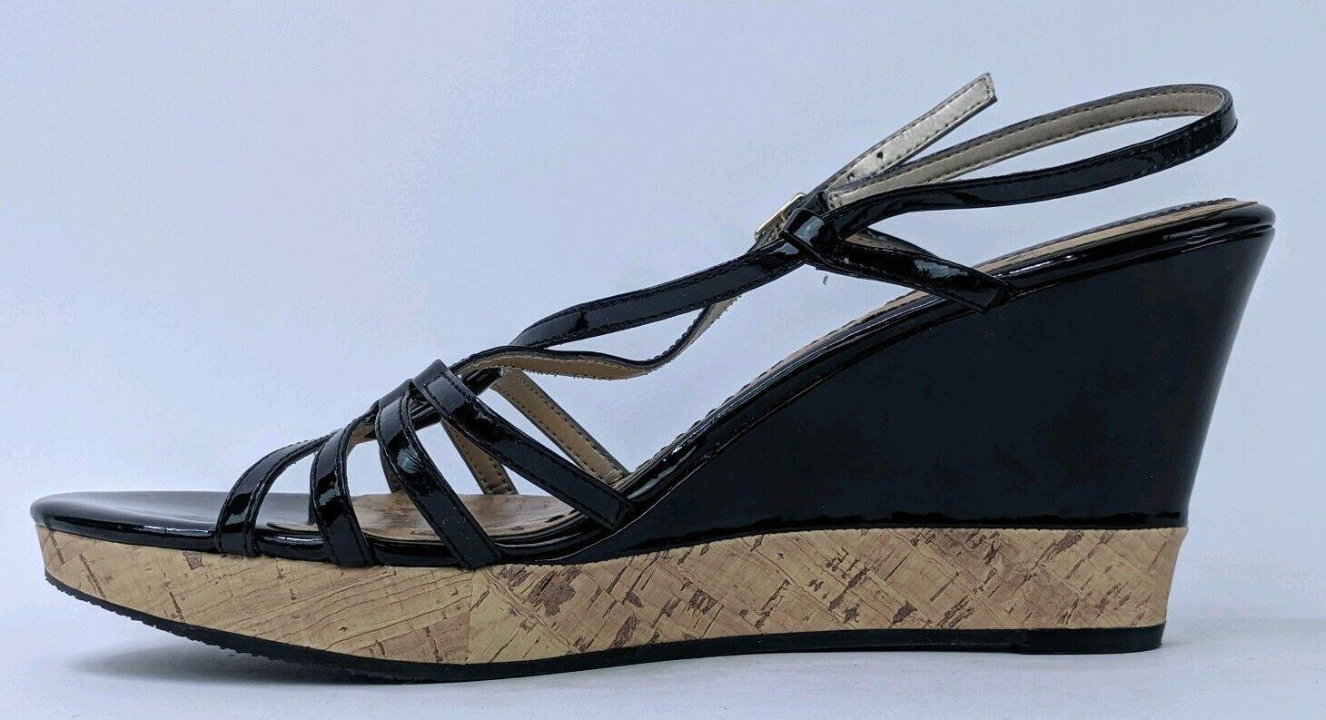 Tommy Hilfiger Women's 8.5M Wedges Heels Black St… - image 2