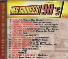 CD album: Compilation: Mes Soirées 90's N° 10. universal . R