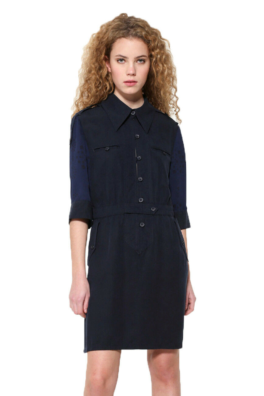 Desigual bluee Irene Shirt Dress 36-46 RRP 94