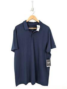 New-Bonobos-Maide-M-Flex-Polo-Shirt-Men-XL-Navy-Blue-Lightweight-Golf