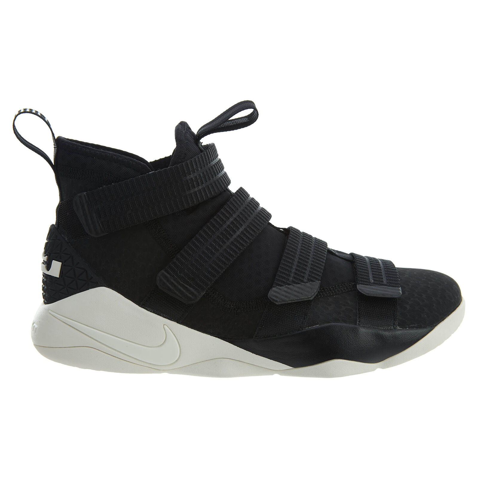 Nike Lebron Basketball Soldier XI SFG Mens 897646-004 Black Sail Basketball Lebron Shoes Size 10.5 80fc02