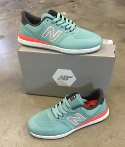 outlet store ef372 93f6e Details about New Balance Numeric 420 Men's Skate Shoe - Teal (PRM)