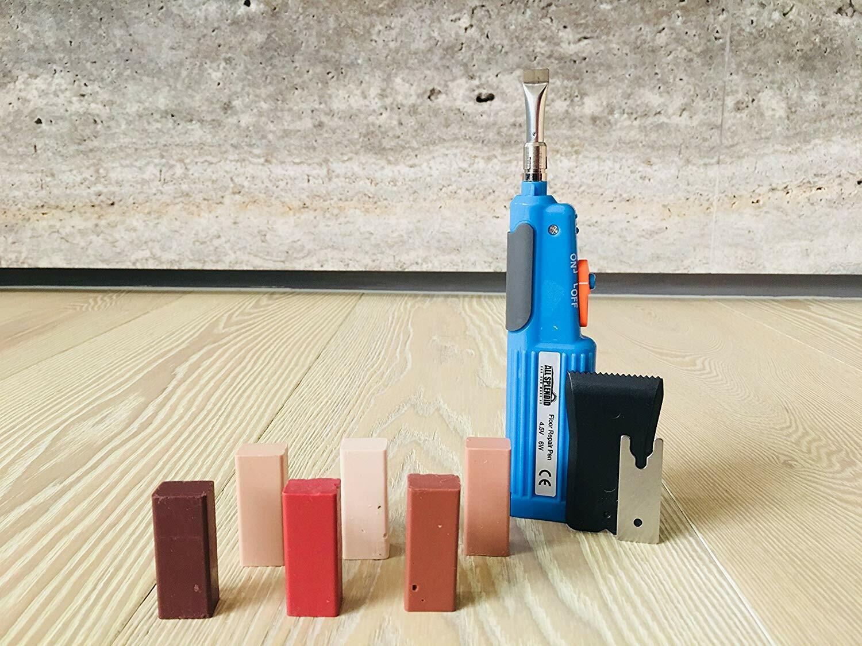 All Splendid Wood and Laminate Repair Wax Kit-For Wood Furniture Flooring Repair