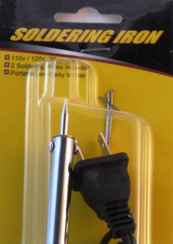 Soldering iron Soldering Gun 110V-120V 30W With 2 Soldering Wires Stand Included