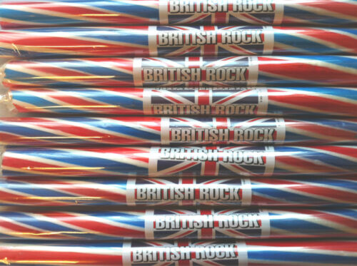 100 X STICKS OF HAND MADE BLACKPOOL ROCK GREAT FOR WEDDING GB