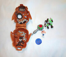 Mighty Max Horror Heads Skull Warrior 100% Complete Set Playset Bluebird Toys