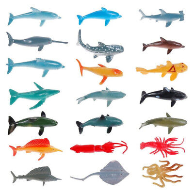 Action Figures Realistic Educational Sea Animal Figures Assorted Sea Animals Toys For Learning Yet Not Vulgar Toys & Hobbies