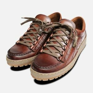 abeaf1e5a7a051 Image is loading Waxy-Chestnut-Rainbow-Mephisto-Shoes