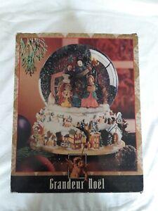 Grandeur-Noel-Water-Snow-Globe-Christmas-Nativity-Animated-Musical-in-Box