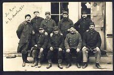 Carte Photo E. Nicolle à CHALIGNY MILITAIRES SOLDATS Uniforme du 6ème Régiment