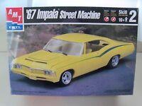 Amt / Ertl - (1967) '67 Chevrolet Impala Ss Street Machine - Model Kit (sealed)