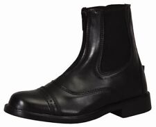 Tuffrider Children's Starter Front Zip Paddock Riding Boots with Punched Toe Cap