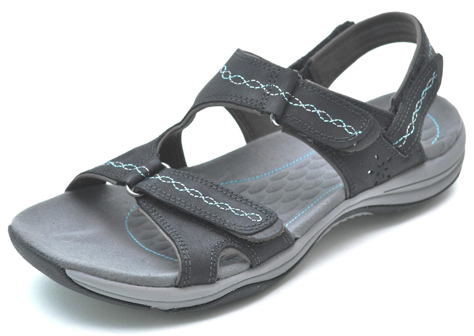 Clarks Privo Swift Hydro Negro Negro Negro Deporte Sandalias Zapatos para mujer 11-Nuevo - 64654  Vuelta de 10 dias