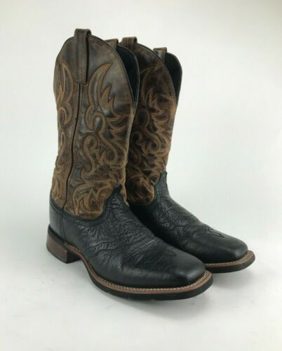 Laredo 7824 Topeka Tan & Black Shoulder Leather B… - image 1