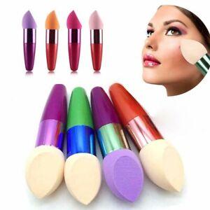 Nueva-Base-de-Maquillaje-Esponja-Mezcladora-de-palo-Cepillo-Puff-Impecable-pwdr-Suave-Beaut