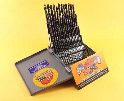 Perceuse Hog ® 25 pc Métrique Drill Bit Set Hi-Molybdenum M7 mm 100/% Garantie à vie