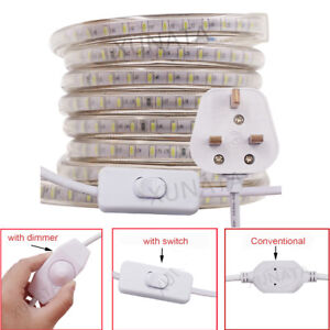 huge selection of ee731 64b1d Details about AC 220V 230V Waterproof LED Strip Light SMD 3014 Garden  Commercial Rope Lights