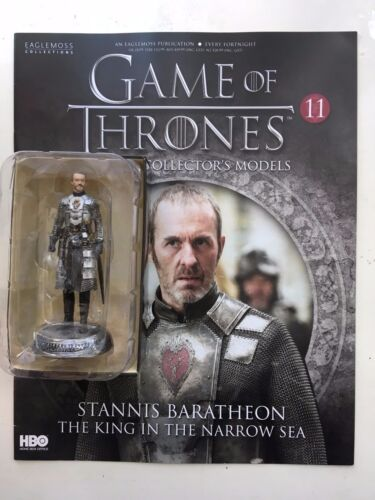 GAME OF THRONES ISSUE 11 STANNIS BARATHEON EAGLEMOSS FIGURE COLLECTOR/'S MODEL
