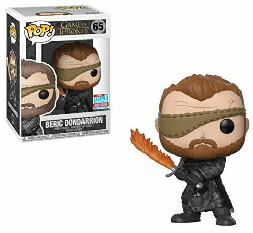 Funko Pop Juego of Thrones 65 GOT 34621 Beric Dondarrion Flame Sword NYCC2018
