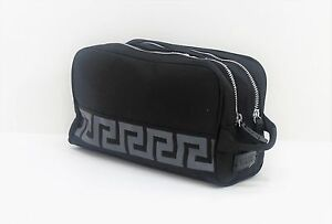 Image is loading VERSACE-WASH-BAG-TOILETRY-BAG-FOR-MEN-NEW c6a5bb6511fea