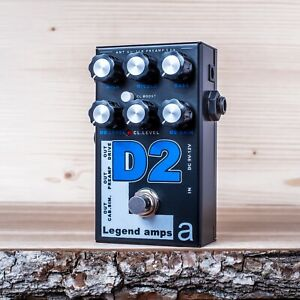 AMT-Electronics-D2-Diezel-guitar-preamp-distortion-overdrive-effect-pedal