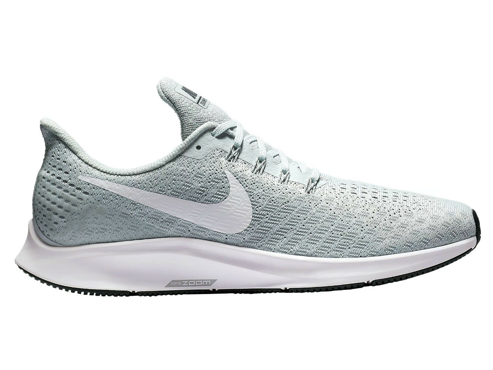 Men's Nike Air Zoom Pegasus 35 Running Shoes Trainers Pure Platinum/White/Wolf