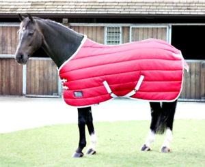 Shires Tempest 400 Stable Rug - Red
