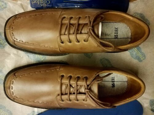 Dr.Comfort Eric Men Therapeutic Diabetic Extra Depth Dress Shoe Leather MSRP$139