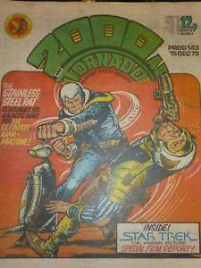 2000-AD-amp-TORNADO-Comic-PROG-No-143-Date-15-12-1979-UK-COMIC