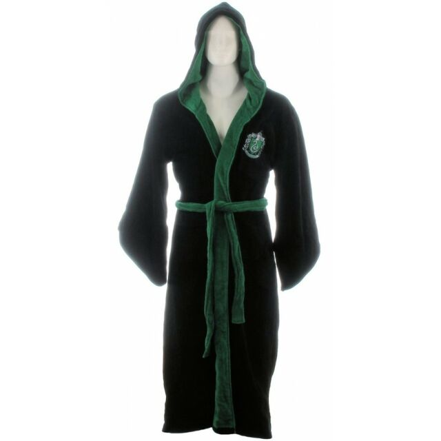 Harry Potter Slytherin New Official Gryffindor Adult Bathrobe Dressing Gown