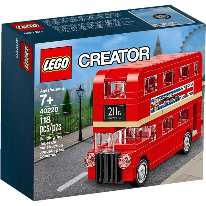 Lego Lego Lego 40220 Creator London Double Decker Bus Brand New 0a5acb